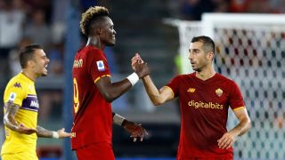 AS Roma vs Udinese 1